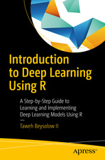 Cover of the book Introduction to Deep Learning Using R