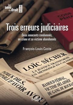 Couverture de l'ouvrage Trois erreurs judiciaires