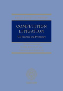 Cover of the book Competition Litigation