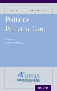 Couverture de l'ouvrage Pediatric Palliative Care