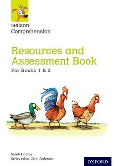 Couverture de l'ouvrage Nelson Comprehension: Years 1 & 2/Primary 2 & 3: Resources and Assessment Book for Books 1 & 2