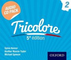 Couverture de l'ouvrage Tricolore 5e édition Audio CD Pack 2