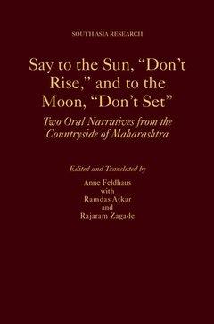 Couverture de l'ouvrage Say to the Sun,