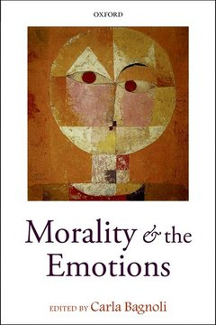 Couverture de l'ouvrage Morality and the emotions