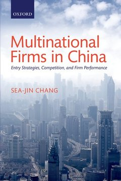 Couverture de l'ouvrage Multinational Firms in China