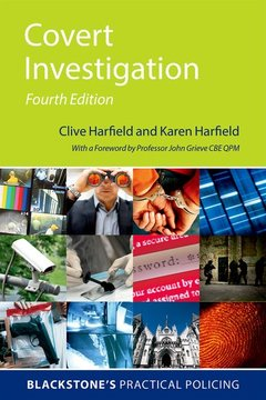 Cover of the book Covert Investigation