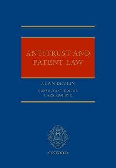 Cover of the book Antitrust and Patent Law