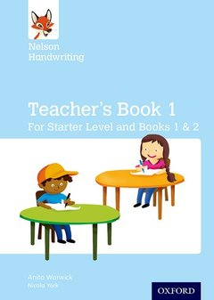 Couverture de l'ouvrage Nelson Handwriting: Teacher's Book for Starter, Book 1 and Book 2
