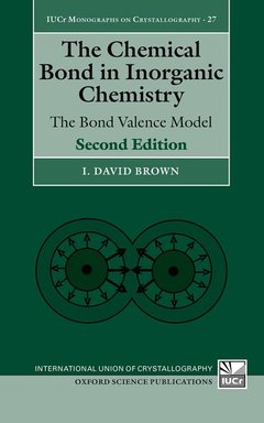 Couverture de l'ouvrage The Chemical Bond in Inorganic Chemistry