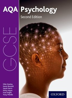 Couverture de l'ouvrage AQA GCSE Psychology