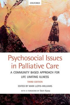 Couverture de l'ouvrage Psychosocial Issues in Palliative Care