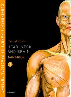 Couverture de l'ouvrage Cunningham's Manual of Practical Anatomy VOL 3 Head, Neck and Brain