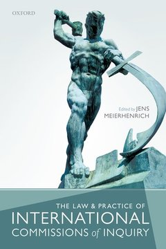Couverture de l'ouvrage The Law and Practice of International Commissions of Inquiry