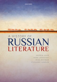 Cover of the book A History of Russian Literature
