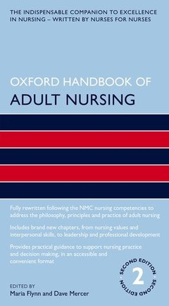 Cover of the book Oxford Handbook of Adult Nursing