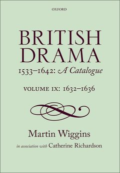 Cover of the book British Drama 1533-1642: A Catalogue