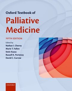 Cover of the book Oxford Textbook of Palliative Medicine