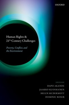 Couverture de l'ouvrage Human Rights and 21st Century Challenges