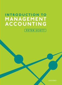 Couverture de l'ouvrage Introduction to Management Accounting