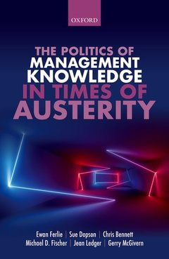 Cover of the book The Politics of Management Knowledge in Times of Austerity