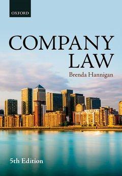 Couverture de l'ouvrage Company Law