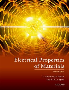 Cover of the book Electrical Properties of Materials