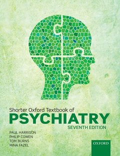 Cover of the book Shorter Oxford Textbook of Psychiatry