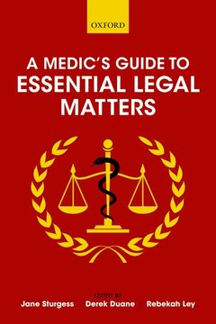 Cover of the book A Medic's Guide to Essential Legal Matters
