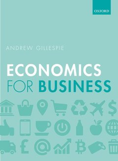 Couverture de l'ouvrage Economics for Business 3e P