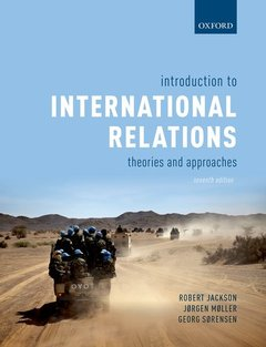 Couverture de l'ouvrage Introduction to International Relations 7e