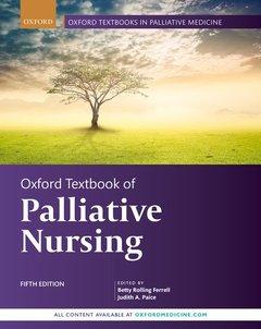 Couverture de l'ouvrage Oxford Textbook of Palliative Nursing