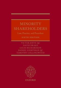 Couverture de l'ouvrage Minority Shareholders 6e