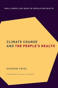 Couverture de l'ouvrage Climate Change and the People's Health