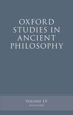 Cover of the book Oxford Studies in Ancient Philosophy, Volume 55
