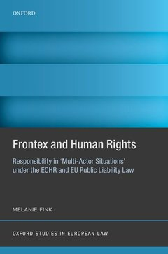 Cover of the book Frontex and Human Rights