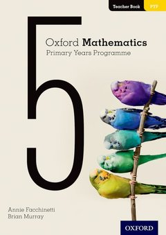 Cover of the book Oxford Mathematics Primary Years Programme Teacher Booklet 5