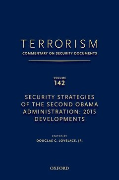 Couverture de l'ouvrage TERRORISM: COMMENTARY ON SECURITY DOCUMENTS VOLUME 142