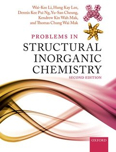 Couverture de l'ouvrage Problems in Structural Inorganic Chemistry