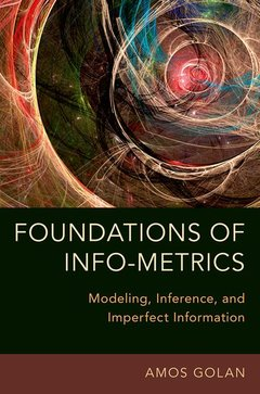 Couverture de l'ouvrage Foundations of Info-Metrics