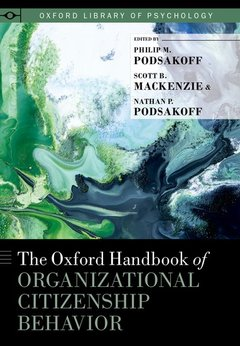 Couverture de l'ouvrage The Oxford Handbook of Organizational Citizenship Behavior