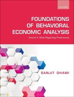 Couverture de l'ouvrage Foundations of Behavioral Economic Analysis