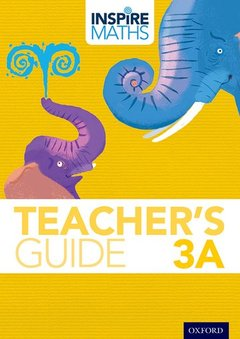 Couverture de l'ouvrage Inspire Maths: 3: Teacher's Guide 3A