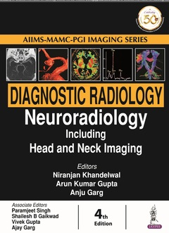 Couverture de l'ouvrage Diagnostic Radiology: Neuroradiology Including Head and Neck Imaging