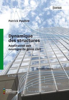 Couverture de l'ouvrage Dynamique des structures