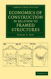 Couverture de l'ouvrage Economics of Construction in Relation to Framed Structures