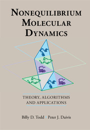 Cover of the book Nonequilibrium Molecular Dynamics