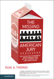 Cover of the book The Missing American Jury