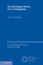 Cover of the book The Homotopy Theory of (∞,1)-Categories