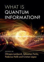 Couverture de l'ouvrage What is Quantum Information?