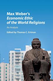 Couverture de l'ouvrage Max Weber's Economic Ethic of the World Religions